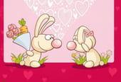 Papiers à lettres Saint-Valentin