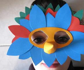 Coloriage deguisement petit diable sur - Masque oiseau a imprimer ...