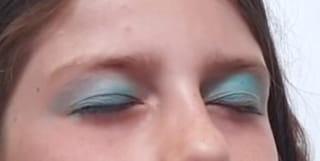 Étape 1: maquillage des paupières