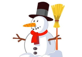Dessiner un bonhomme de neige