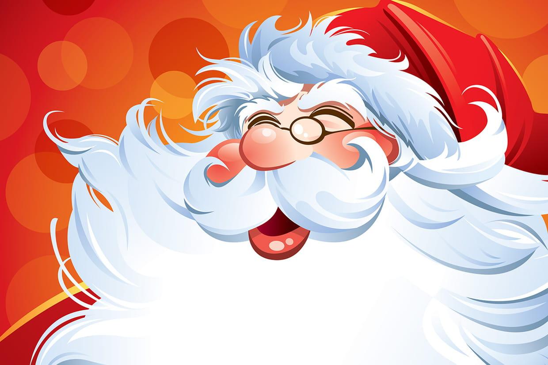 Coloriage Père Noël Gratuit à Imprimer Sur Hugolescargotcom