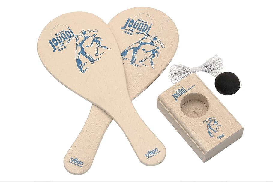 Jokari: les règles du jeu de raquettes en bois
