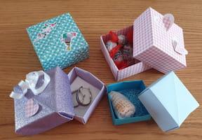 Boite facile en origami [VIDEO]