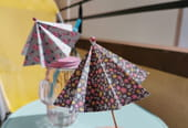 Ombrelle en origami