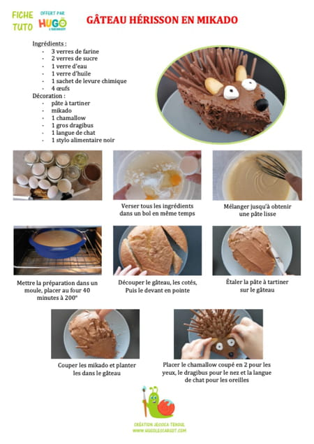recette-du-gateau-herisson-avec-des-mikados