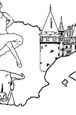 Coloriage Espagne en Ligne Gratuit à imprimer