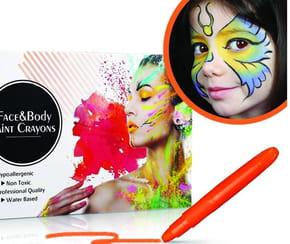Peinture pour le visage: que choisir pour son maquillage?