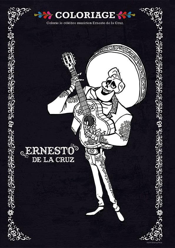 Coco, Ernesto de la Cruz