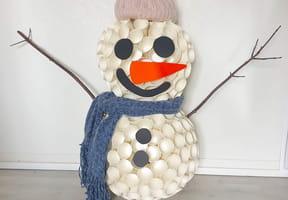 Bonhomme de neige gobelets [VIDEO]