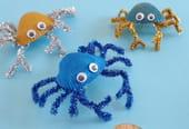 Crabe coquillage