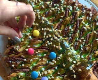 Gâteau sapin en pâte feuilletée - Étape 9