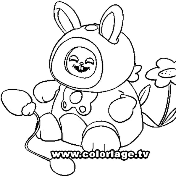 Dessin Kidiminiz Fripouille a colorier