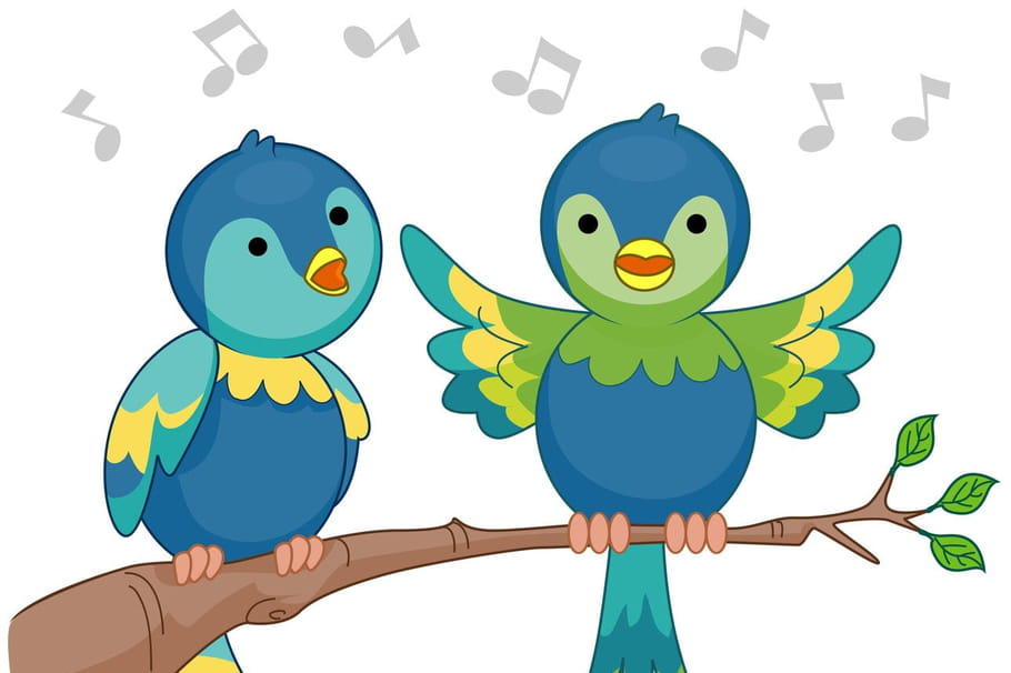 Comptine Deux petits oiseaux