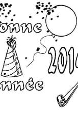 Coloriage 2014 en Ligne Gratuit à imprimer