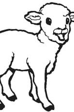 Coloriage agneau en ligne gratuit imprimer - Coloriage agneau ...