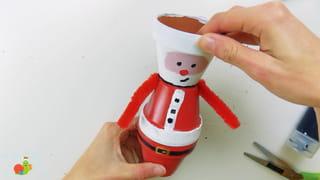 Père-Noël en terre-cuite - Étape 8