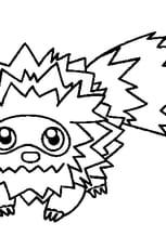 Coloriage Pokémon zigzaton