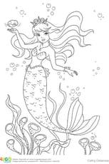La petite sirène, princesse de légende