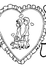 Coloriage d amour en Ligne Gratuit à imprimer