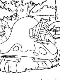 Maison des Schtroumpfs