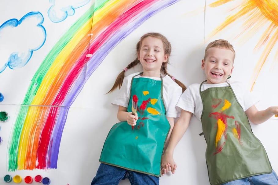 Peinture pour enfants: le matériel incontournable pour petits artistes