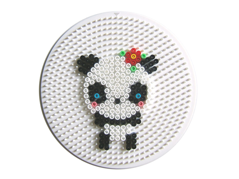 panda kawai en perles repasser. Black Bedroom Furniture Sets. Home Design Ideas