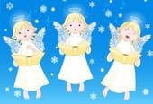 Comptine Les anges dans nos campagnes