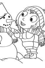Activités de Noël, bonhomme de neige