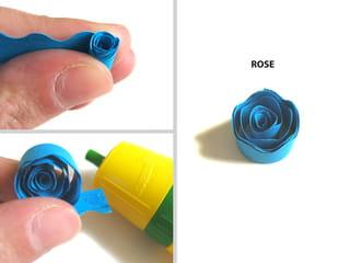 La technique, réaliser une rose