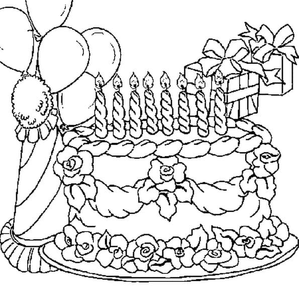 8 ans coloriage 8 ans en ligne gratuit a imprimer sur coloriage tv - Dessin pour anniversaire ...