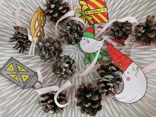 Étape 5: Votre guirlande de Noël en pommes pin est terminée