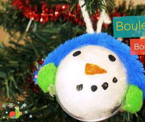 Décoration Boule de Noël pour les maternelles