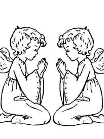 Anges en prière
