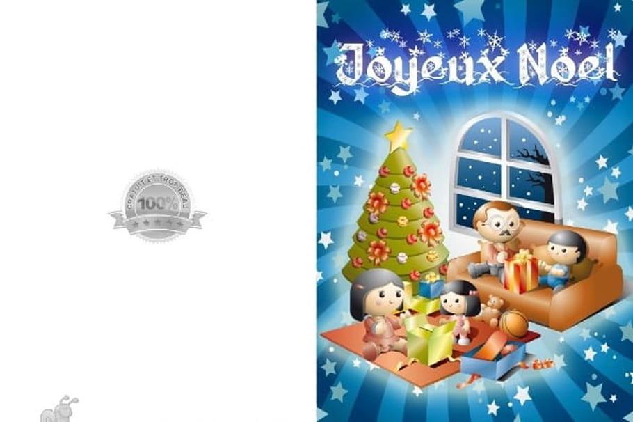 Carte De Joyeux Noel