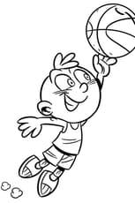Coloriage Activité enfant le Basket