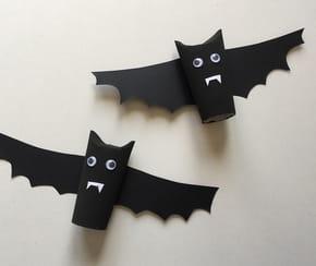 Fabriquez une chauve-souris d'Halloween en rouleau de papier toilette [VIDÉO]