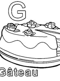 G comme Gâteau