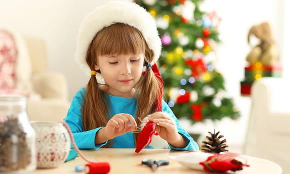 Bricolage décorations de Noël