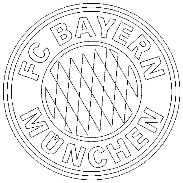Bayern munich coloriage bayern munich en ligne gratuit a imprimer sur coloriage tv - Coloriage ecusson ...