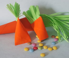 Les carottes à bonbons, décoration de Pâques [VIDEO]