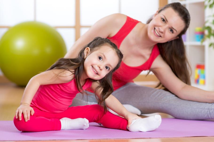 Gym enfant: quels exercices faire avec les petits?