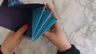 Étape 6: pliez l'album en accordéon