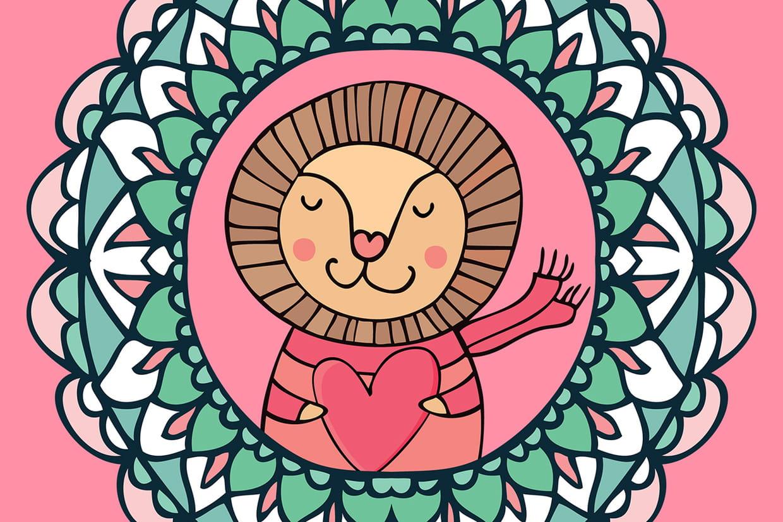 Coloriage Mandala pour les Petits