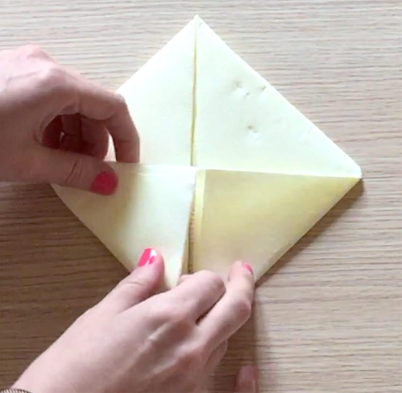 Pliage De Serviette En Forme De Lapin Video