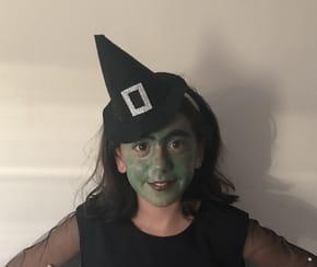 Chapeau de sorcière pour Halloween
