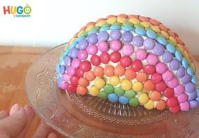 Le gâteau arc-en-ciel [VIDEO]