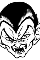 Coloriage Tête de Dracula