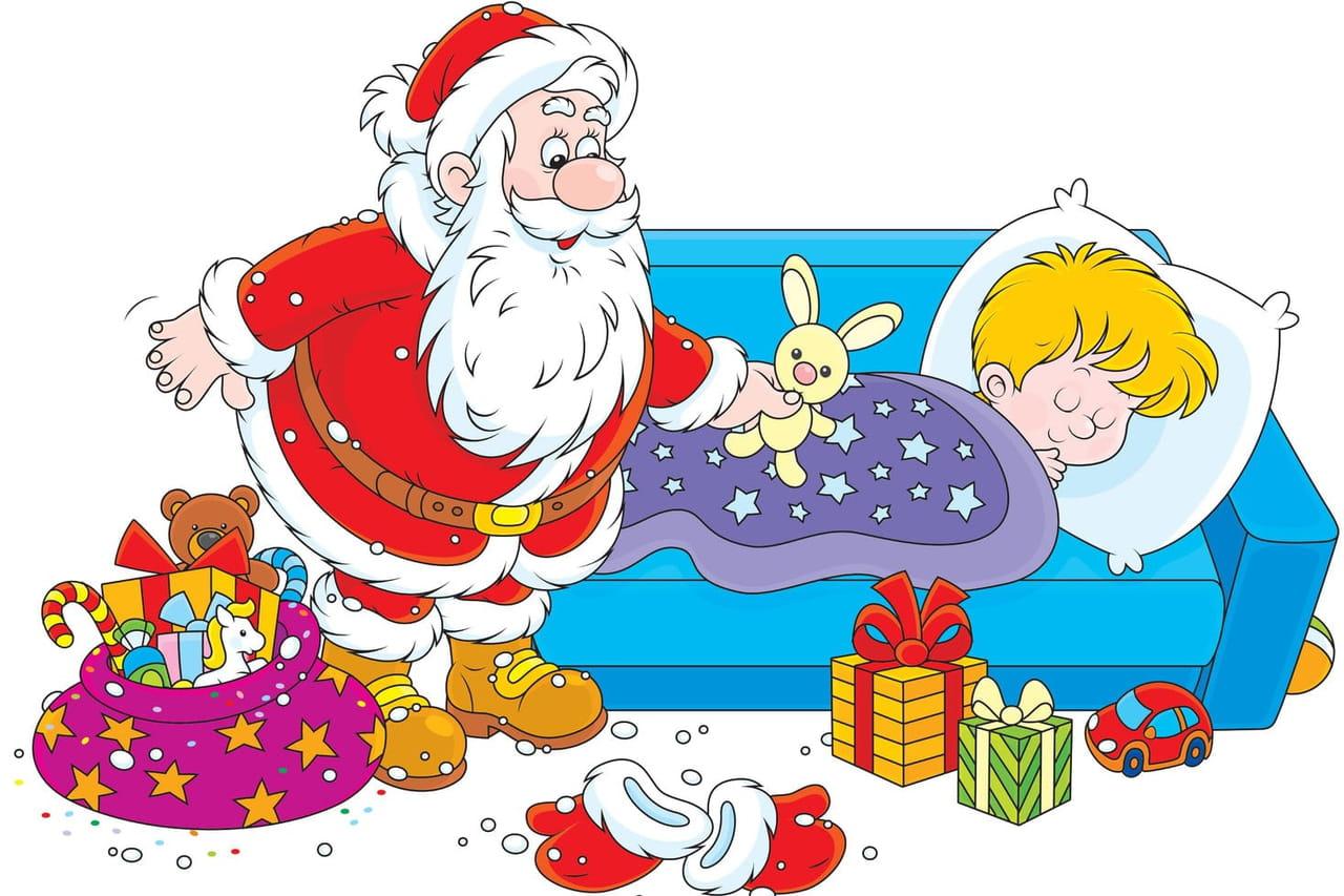 Petit Papa Noël Chansons Pour Enfants Sur Hugolescargotcom