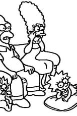 Coloriage Simpson en Ligne Gratuit à imprimer