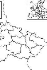 Coloriage carte Tchéquie en Ligne Gratuit à imprimer